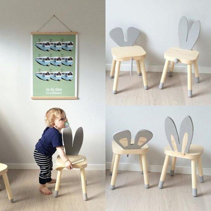 fabriquer une chaise lapin pour enfant