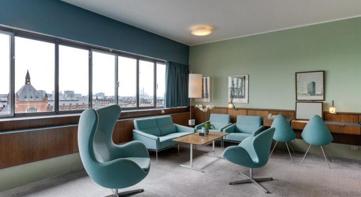 Hall hotel Radisson Blu Sas Royal copenhagen