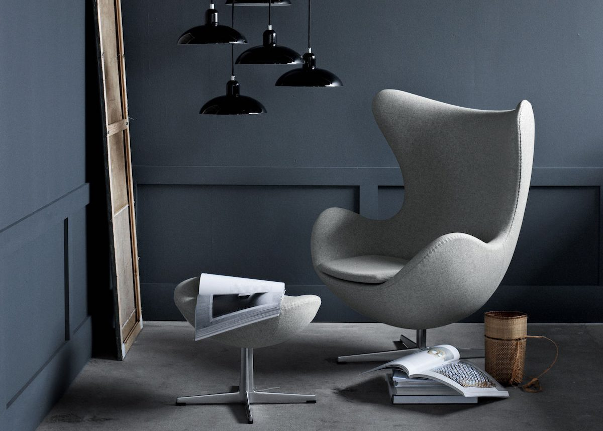 Design Fauteuil Egg.Icone Design Le Fauteuil Egg De Fritz Hansen Clem Around