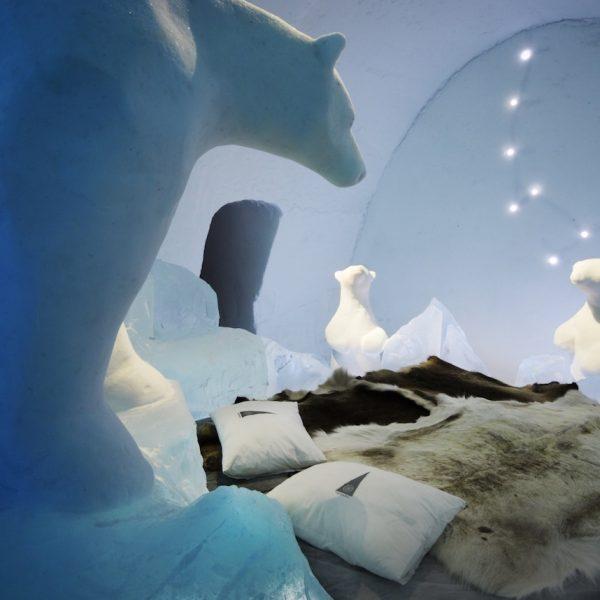chambre hotel de glace au canada