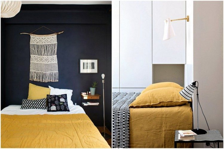 deco gris et jaune moutarde exemple salon scandinave blanc tapis gris canap bleu marine et. Black Bedroom Furniture Sets. Home Design Ideas