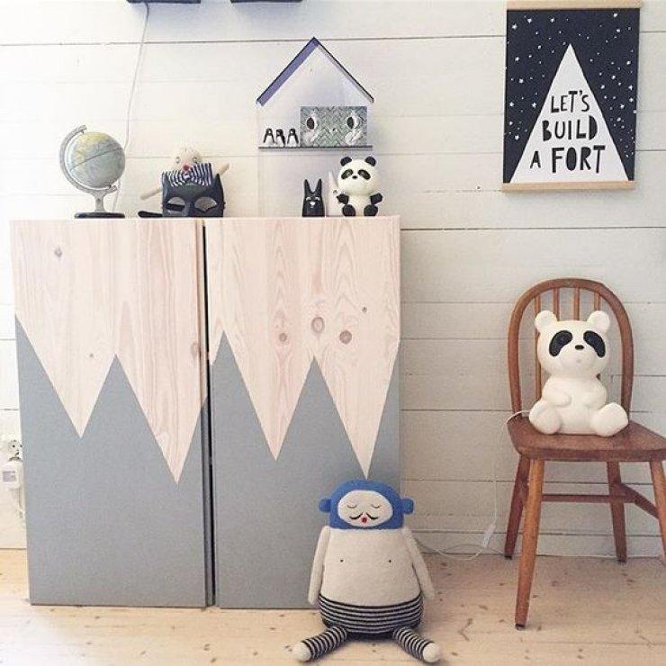 Customiser un meuble ikea 20 bonnes id es pour la chambre d 39 enfant - Meuble a peindre ikea ...