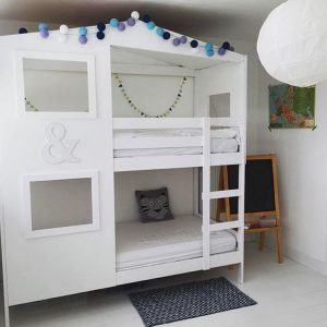 customiser un meuble ikea 20 bonnes id es pour la chambre d 39 enfant. Black Bedroom Furniture Sets. Home Design Ideas