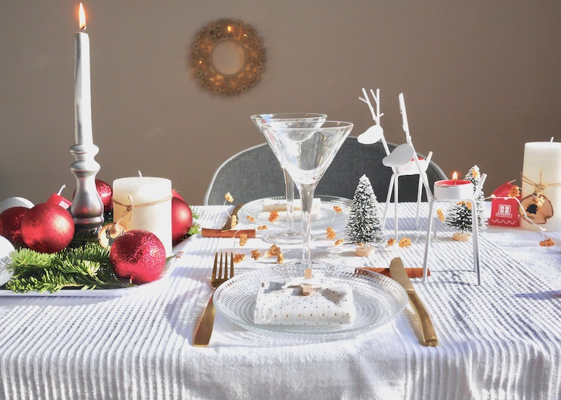 Inspiration no l table monoprix d co clem around the for Presentation de table de noel