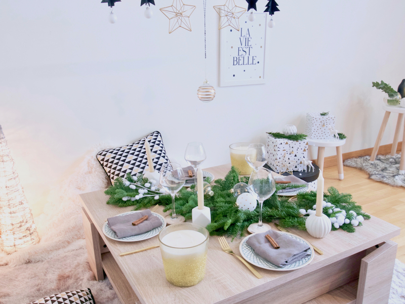 Noël entre amis : Inspiration déco - Blog Deco - Clem Around The Corner