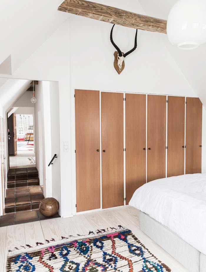 chambre adulte style annees 70 par Mogens Lassen