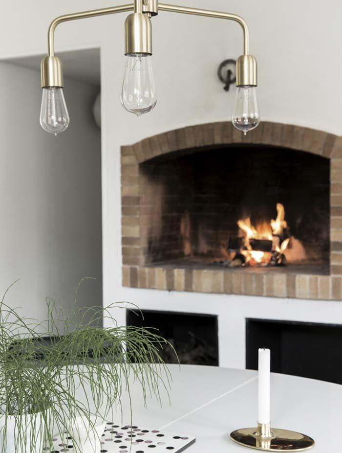 maison du Danemark annees 70 architecture cheminee en brique