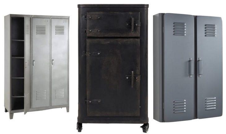 grande armoire métallique rangement casiers