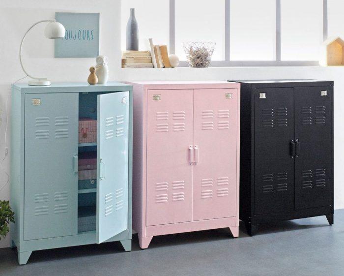 armoire métallique pour enfant commode deco