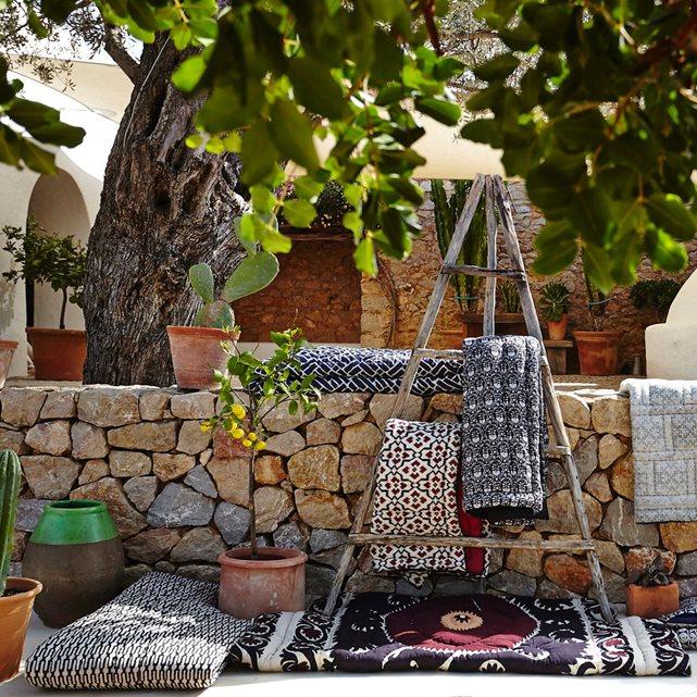 matelas de sieste en exterieur terrasse