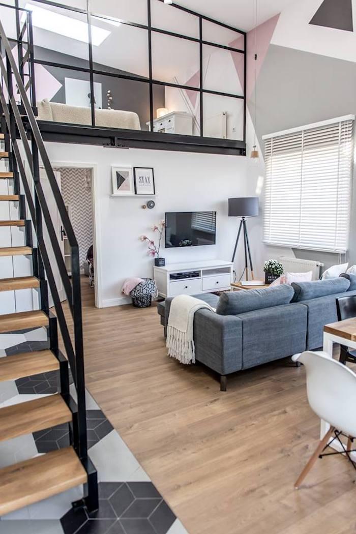 loft scandinave style indus moderne