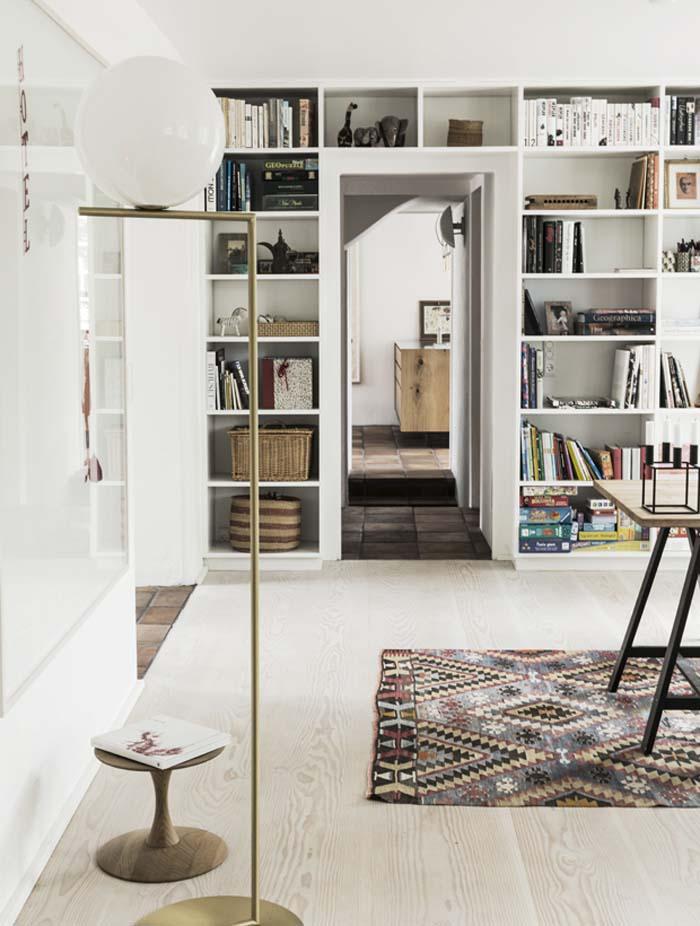 maison du danemark par Mogens Lassen et Arne Jacobsen salon
