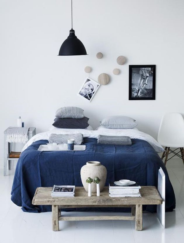 la couleur bleu marine dans la d co clemaroundthecorner. Black Bedroom Furniture Sets. Home Design Ideas