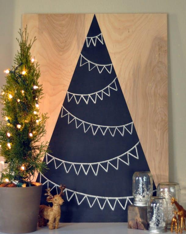 DIY sapin de Noel eint