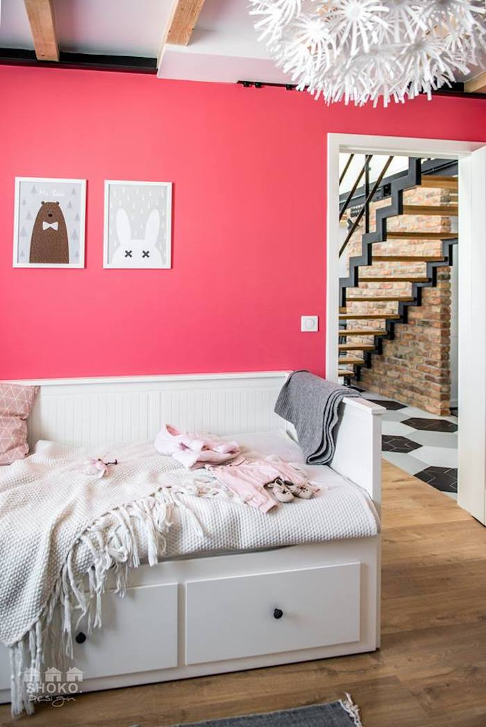 loft scandinave chanbre enfant amenagement