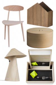 Grande tendance déco : le scandinave minimaliste alors le meuble en contreplaqué à une place d'honneur
