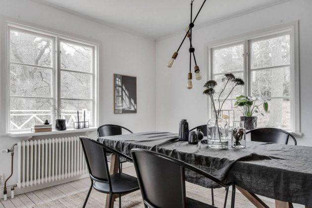 salle à manger scandinave hygge
