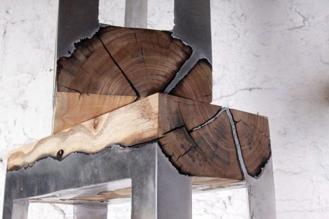 wood crafting par hilla Shamia designer israelienne