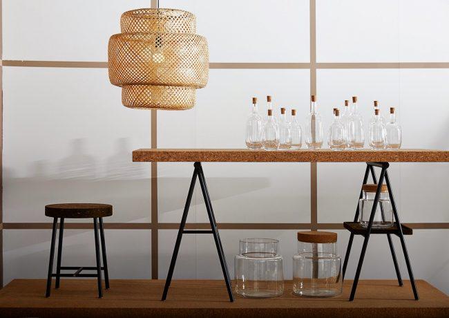 ikea lampe bambou rotin suspendu best seller