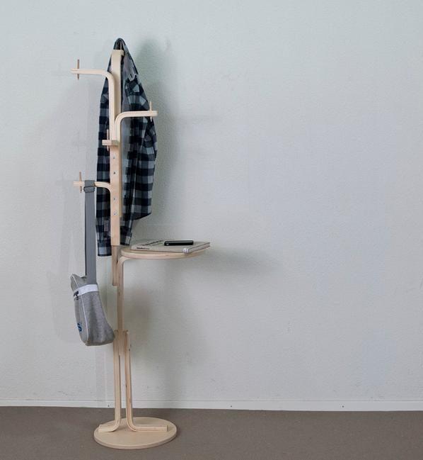 ikea hack tabouret frosta transformer en porte-manteaux