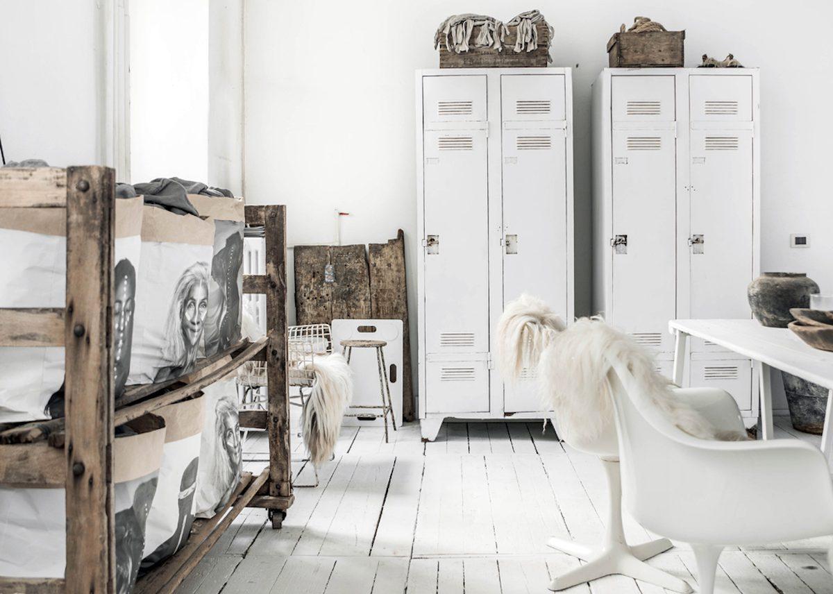 où trouver une armoire métallique de style scandinave industriel