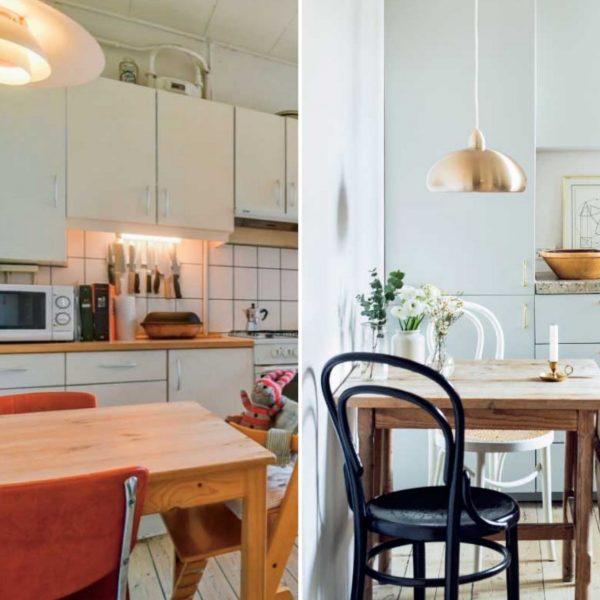 appartement avant après cuisine scandinave