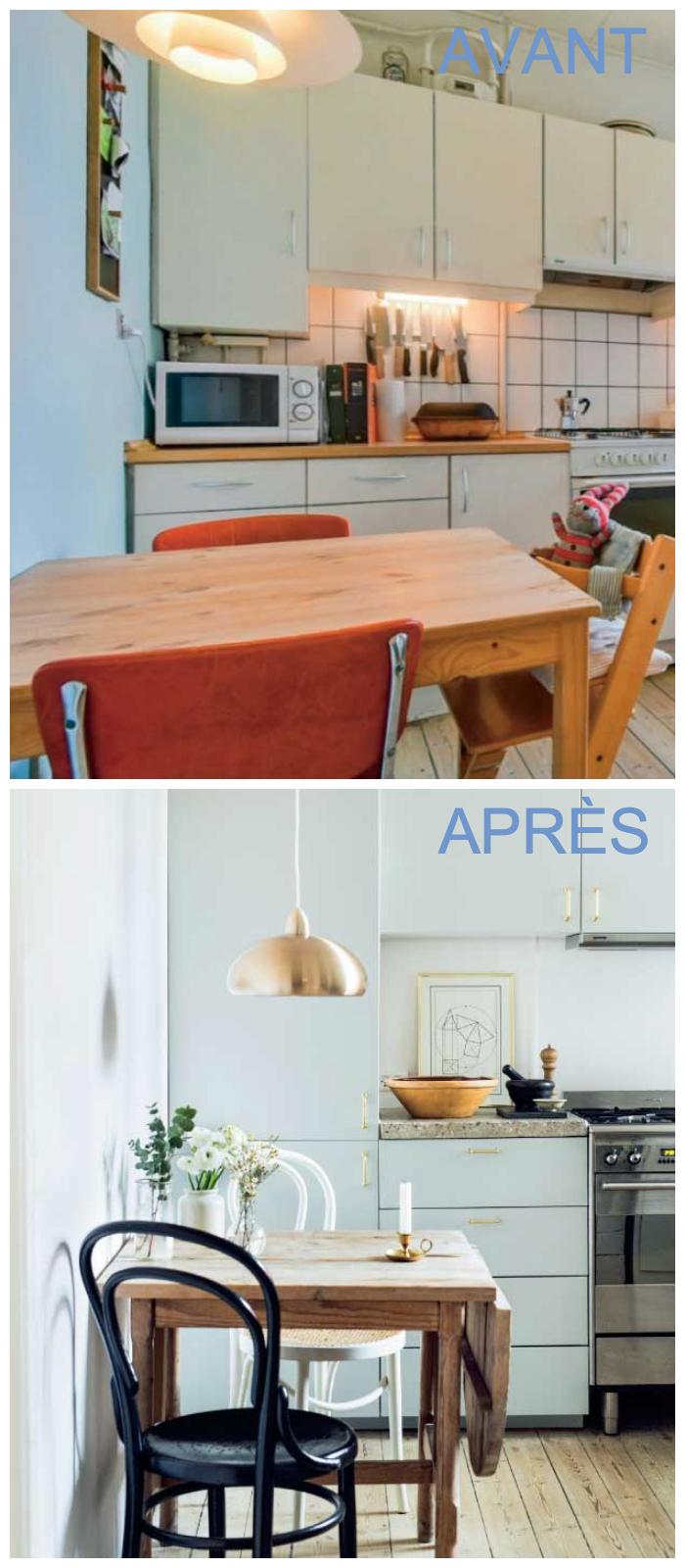 appartement avant après cuisine