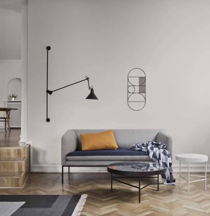 ambiance cosy dans ce salon minimaliste