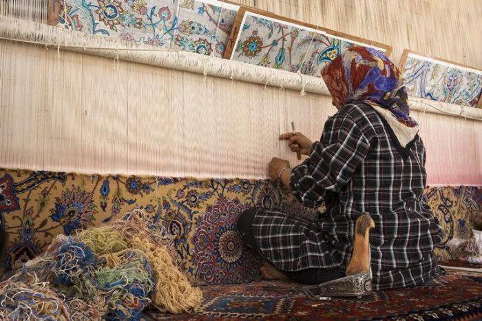 L'histoire du tapis persan