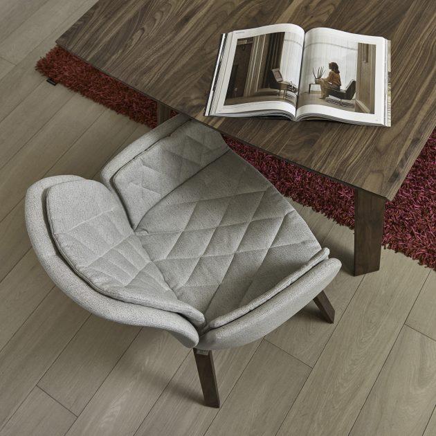 fauteuil salle a manger gris classique moderne confortable mobitec