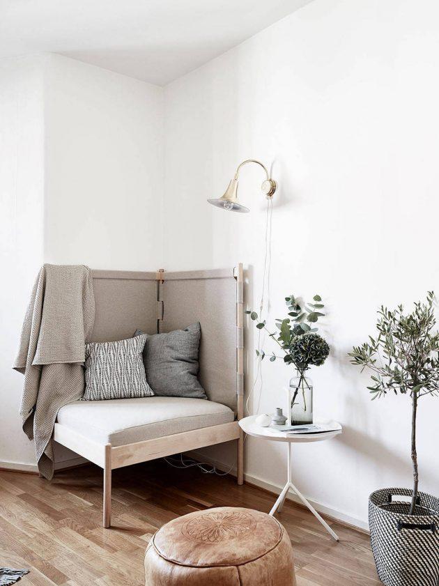 fauteuil d'angle pour la maison espace détente blog déco