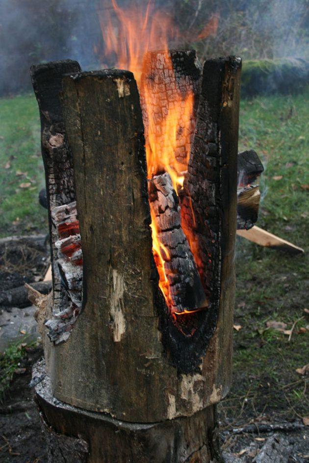 comment fabriquer un tabouret feu