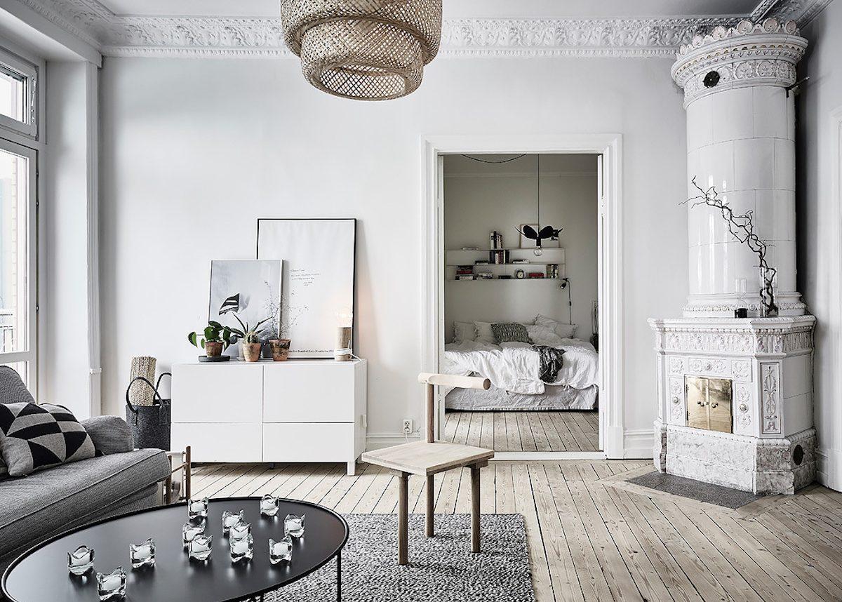 appartement années 1800 retour à Göteborg