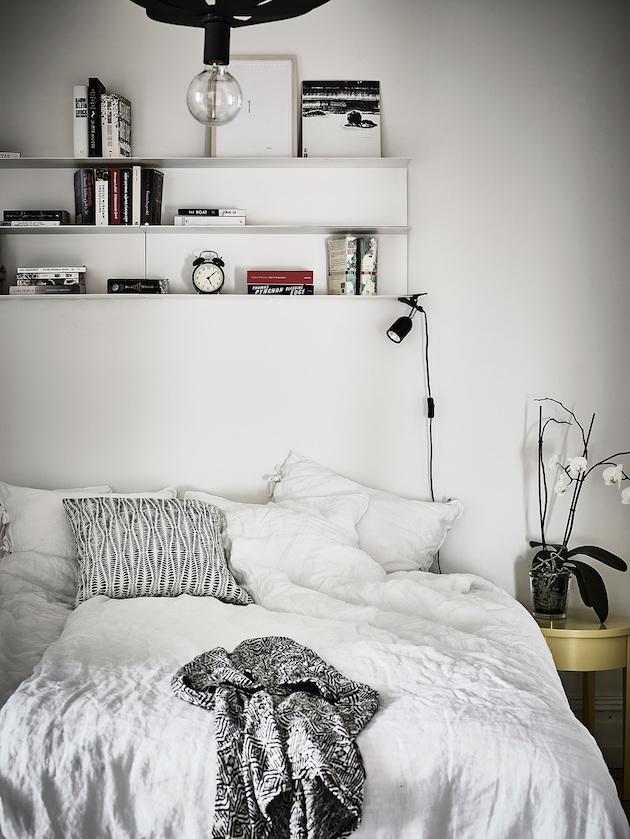 chambre décoration retour à Göteborg