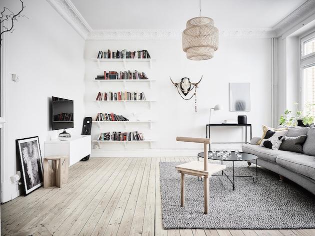 architecture retour à Göteborg salon