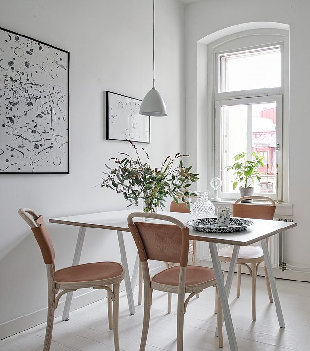coin repas minimalisme scandinave cuisine