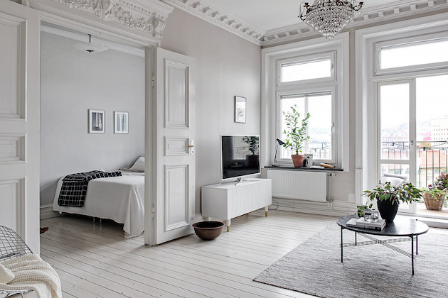 appartement scandinave decoration interieur goteberg