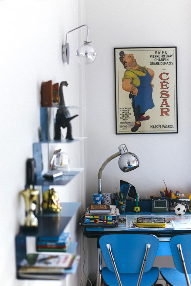 appartement haussmannien moderne chambre garcon