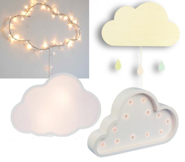 lampe nuage veilleuse enfant decoration chambre