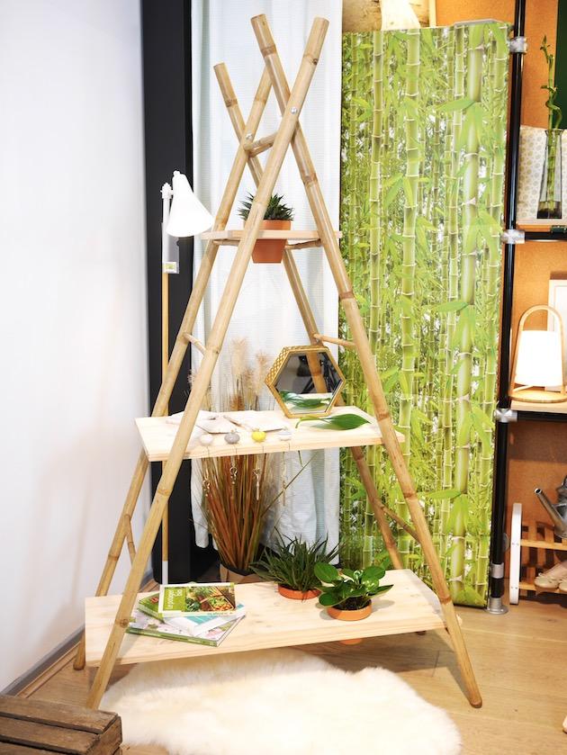 DIY fabriquer une etagere echelle clemaroundthecorner