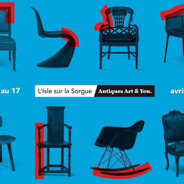 foire L'Isle-sur-la-Sorgue Antiques Art & You