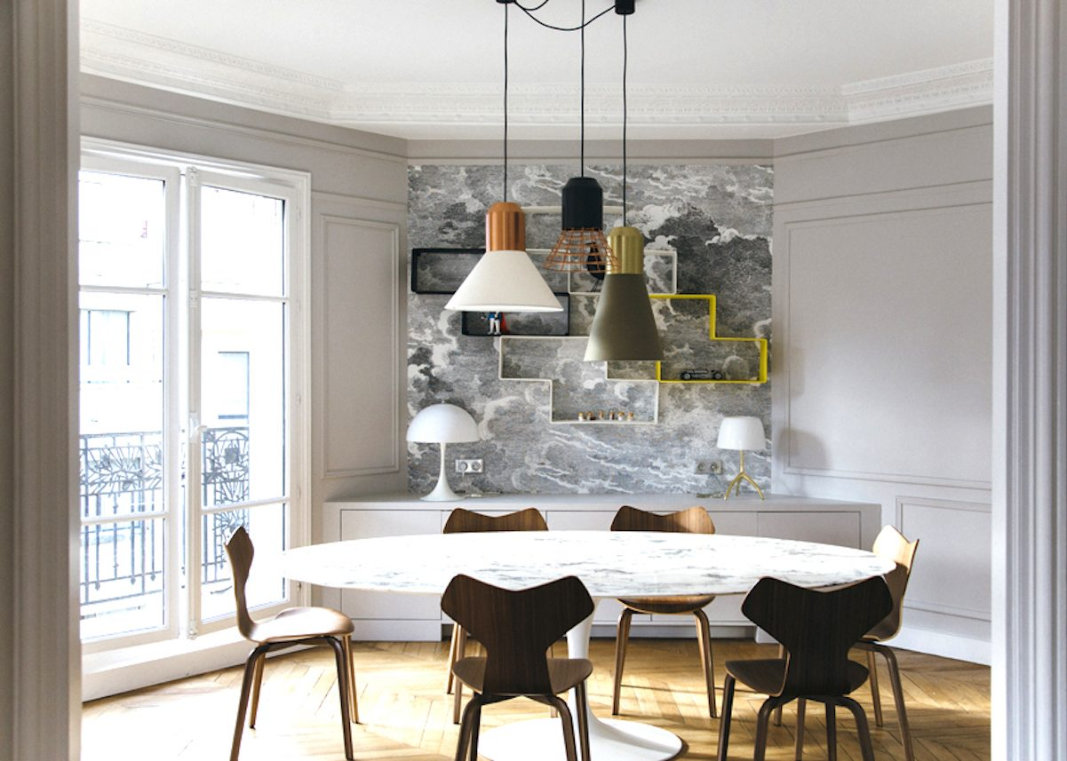Appartement haussmannien moderne visite d co blog for Appartement deco pinterest