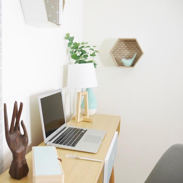 installer un bureau dans un salon conseil astuce