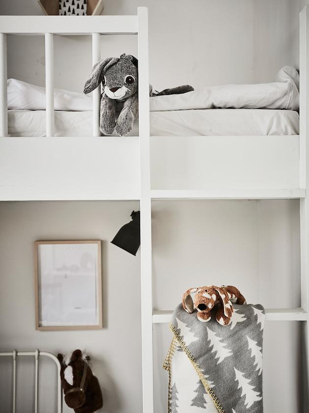comment aménager une chambre pour deux enfants style scandinave