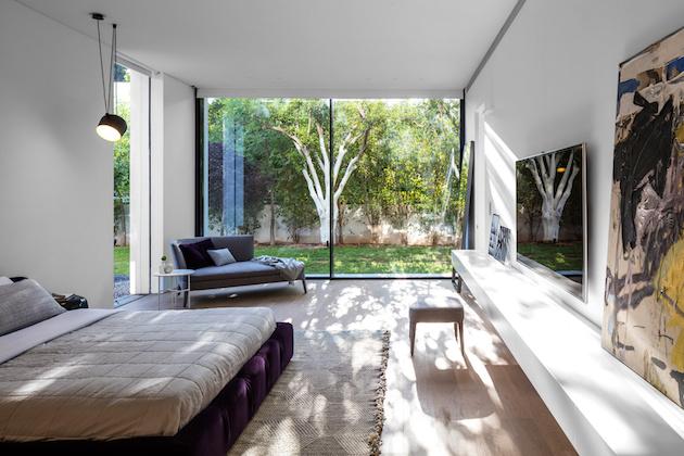 pitsou kedem architect maison transparente en verre