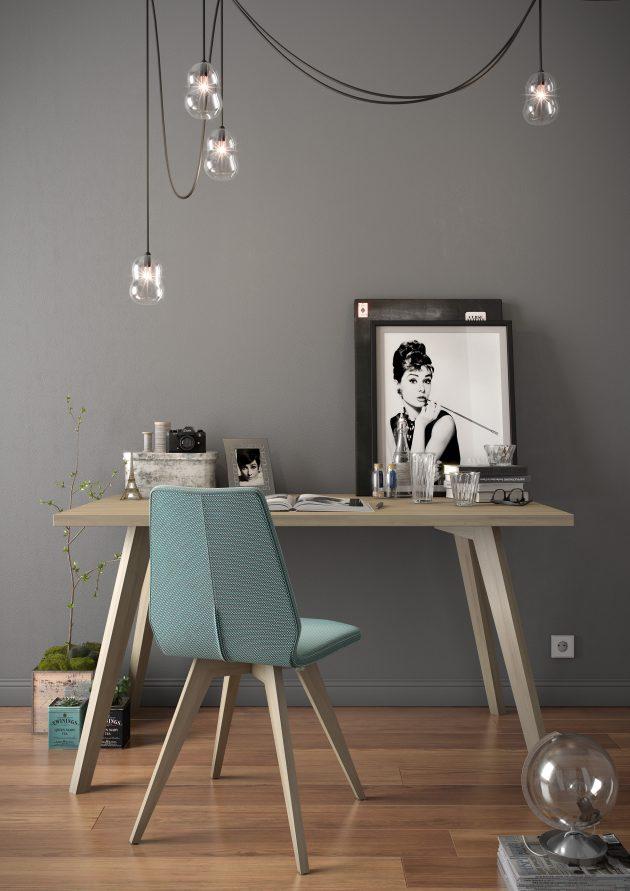 coin bureau fille feminin gris elegant mobitec