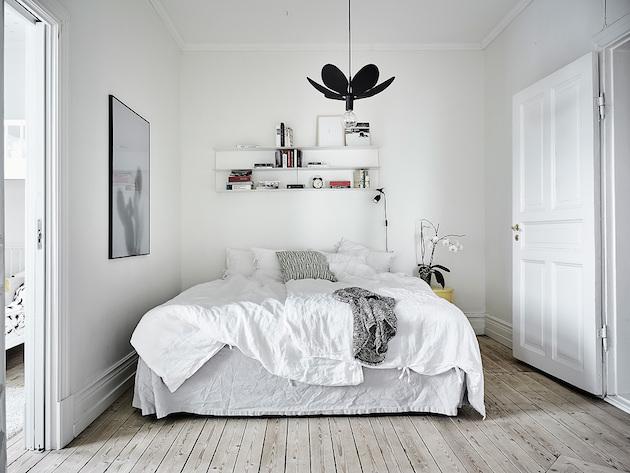 idee decoration chambre nordique style suédois