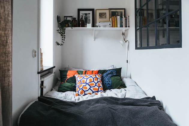 petit studio amenagement chambre couloir