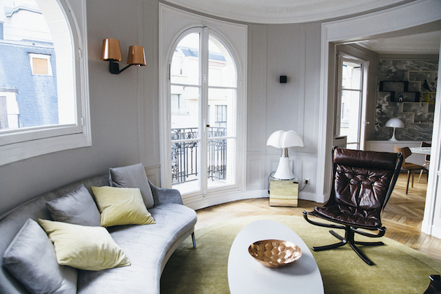 Appartement haussmannien moderne : visite déco - Blog Décoration Clem
