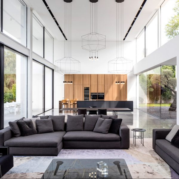 Pitsou Kedem Architects maison transparente de verre